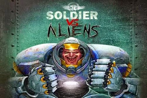 Jogo Soldier vs Aliens Premium Mod Unlimited Money