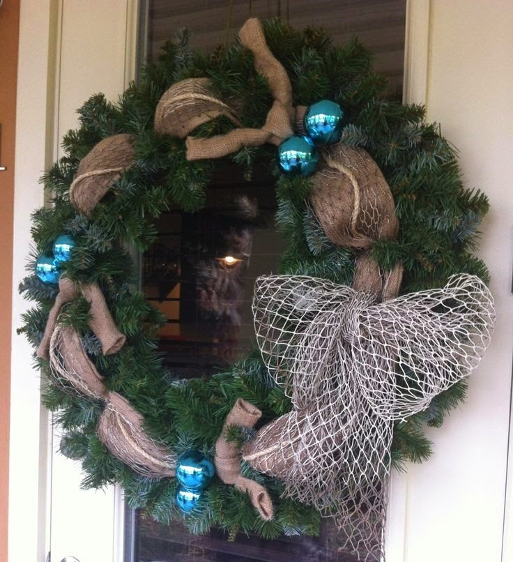 Beach Cottage Christmas - Wreath
