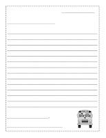 Friendly Letter Worksheets