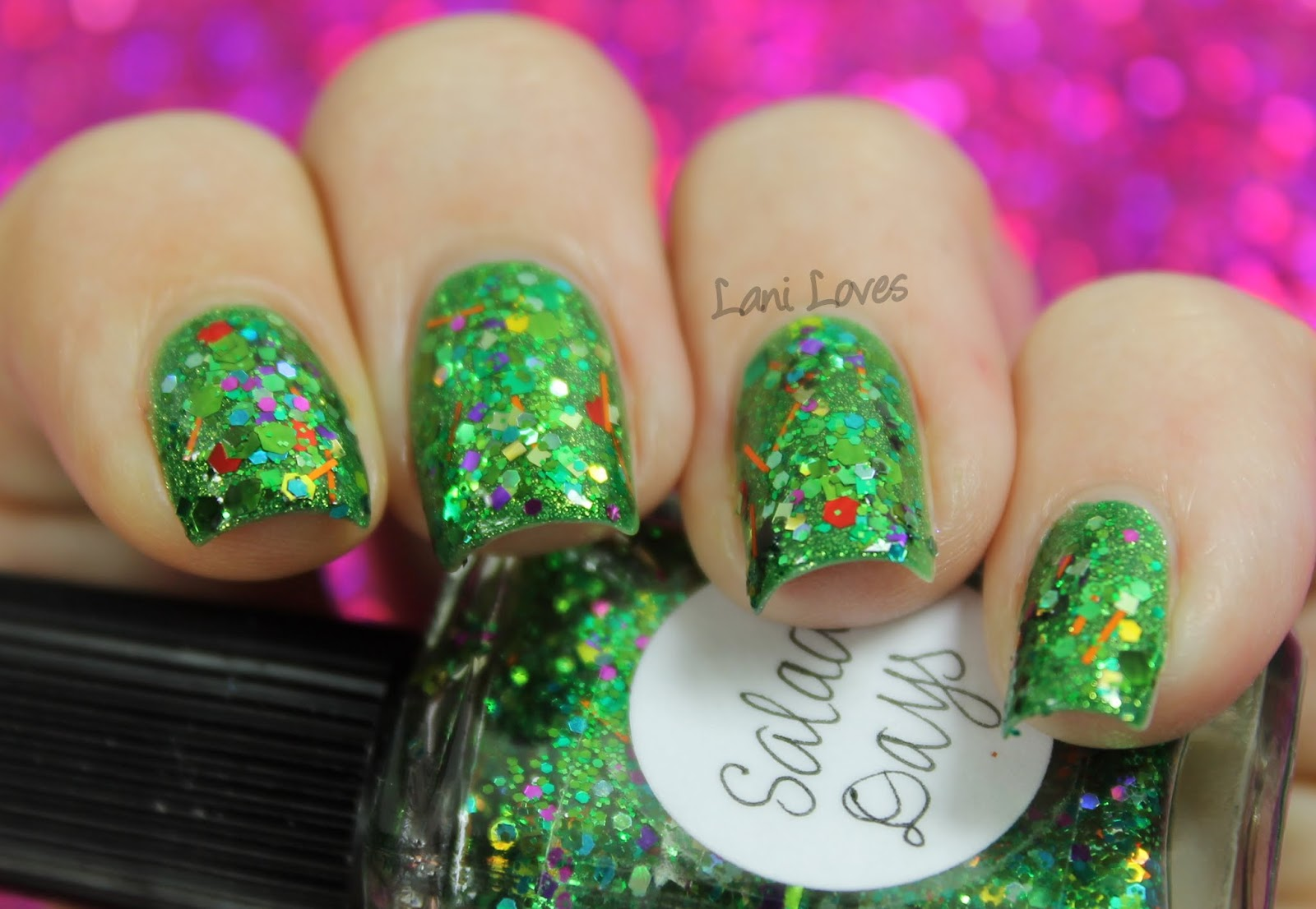 Lynnderella Salad Days nail polish swatch