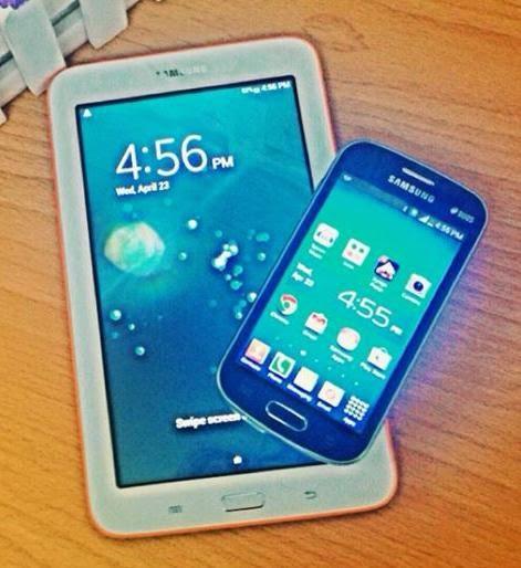 Samsung Galaxy Tab 3 Lite and Galaxy Trend Lite FREE at Sun Plan 600