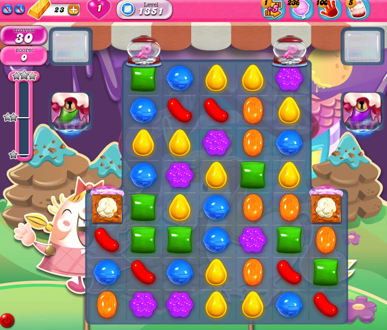 Candy Crush Saga 1351