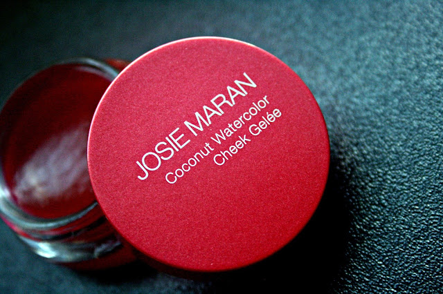 Josie Maran Coconut Watercolor Cheek Gelee in Pink Escape Review, Photos & Swatches