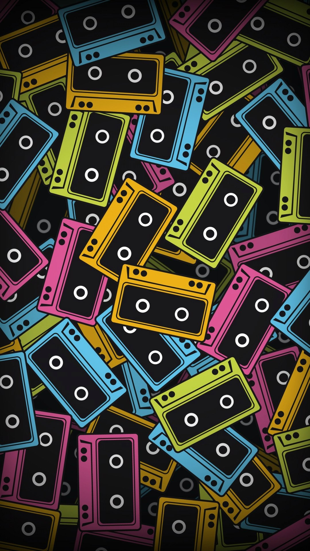 Audio Cassette Color Vector Android Wallpaper Best Andro