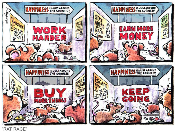 Get Out From The Rat Race!