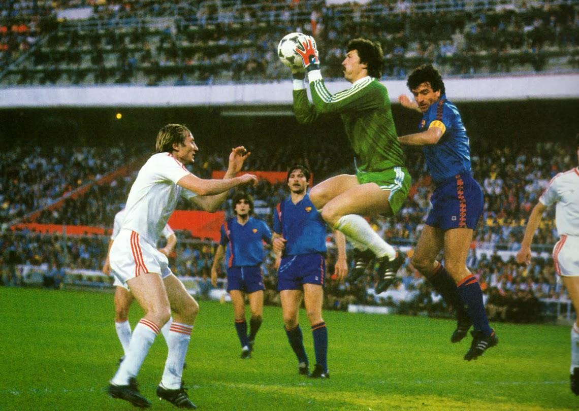Final de la Copa de Europa de 1986 entre Steaua Bucarest y FC Barcelona