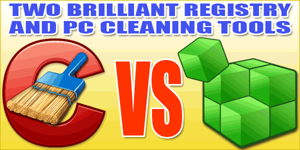 Two Brilliant Registry And PC Cleaning One-Click Tools For You