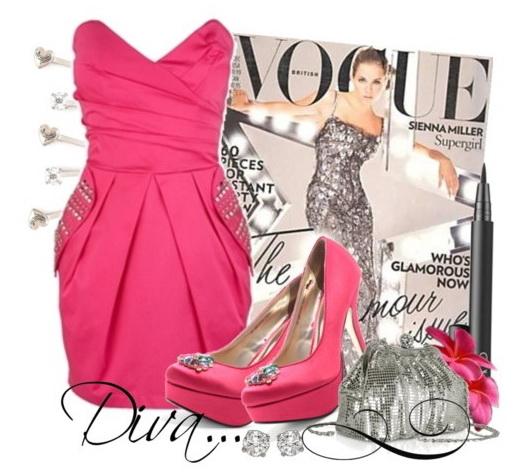 Розовое платье для самой красивой