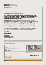 Telegrama enviado ao ministro Marco Aurélio, relator do Habeas Corpus Extraterritorial