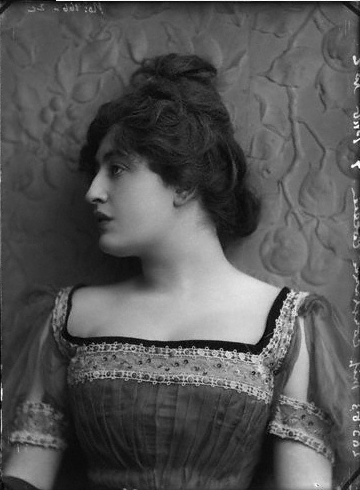 vintage portrait constance collier