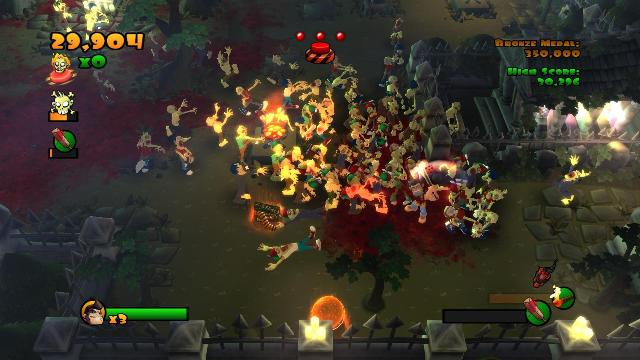 Burn Zombie Burn PC Games Screenshots