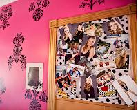 Dormitorio Teens (Quarto da Menina) Inspirado en Miley Cyrus
