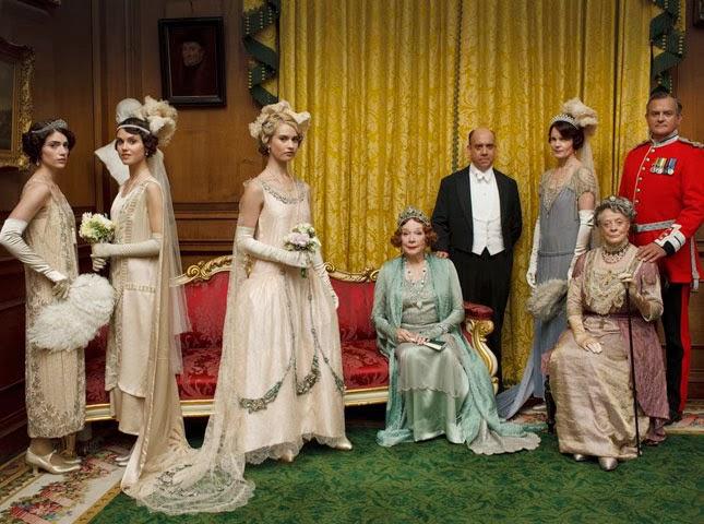 The League of British Artists: 'Downton Abbey' season 4 Christmas ...