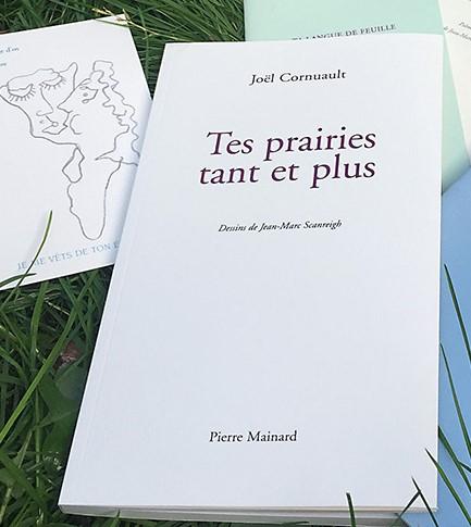 Joël CORNUAULT, TES PRAIRIES TANT ET PLUS, Pierre MAINARD Éditeur, 2018