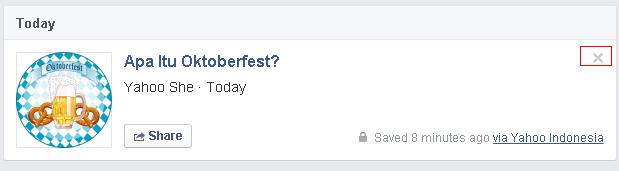 Saved, Fitur Baru Facebook Untuk 'Bookmark' Postingan Menarik