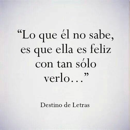 Con sólo escucharlo...❤