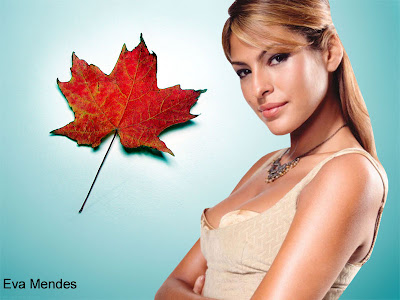 Eva Mendes Beautiful Wallpaper