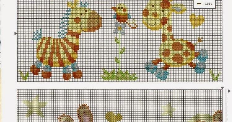 Punto croce zebra giraffa hobby lavori femminili for Giraffa punto croce