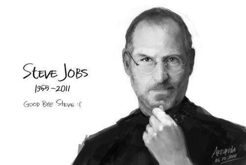 40 Lukisan Steve Jobs yang Mengagumkan: Good Bye Steve