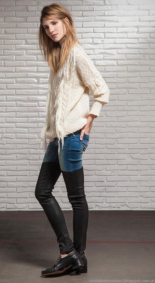 Moda Jeans otoño invierno 2015 Square.