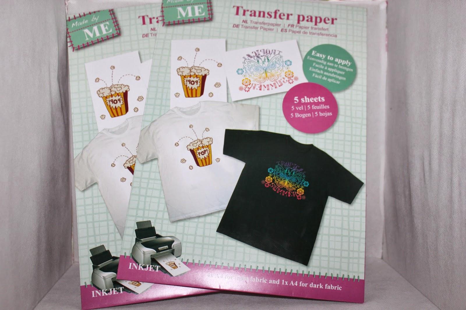 Transfer papier action