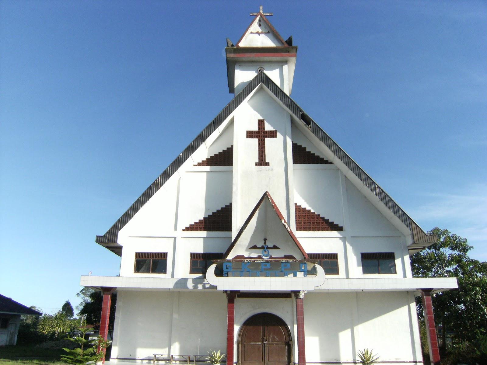 Foto gereja kristen protestan