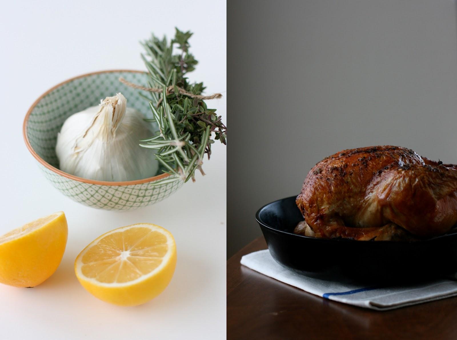 ... : Simple Recipes + Meyer Lemon Roast Chicken w/ Herbes de Provence