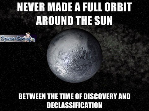 funny things Pluto picture