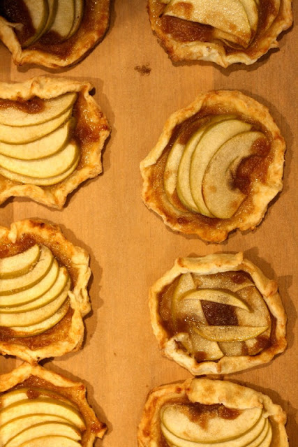 Mini Rustic Apple Tarts