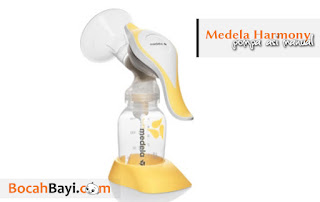 Pompa ASI Medela Harmony, Breast pump harmony, manual harmony