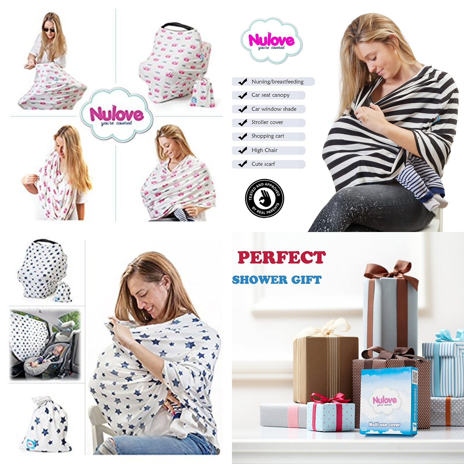 Deal Alert !! #NuLove Breastfeeding Multi use Wrap -10% OFF Code!!