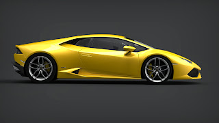 Flach und angriffslustig kauert der neueste Kampfstier von Lamborghini auf dem Asphalt