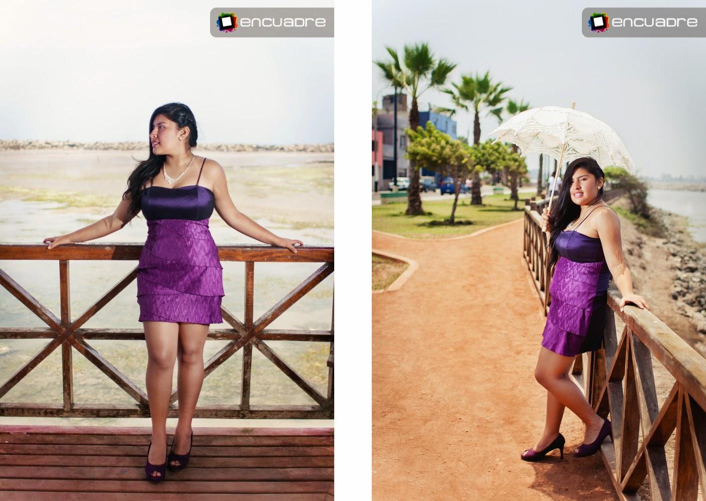 sesion fotos quinceañera playa