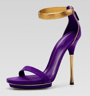 purple heels, purple sandals, gucci, purple