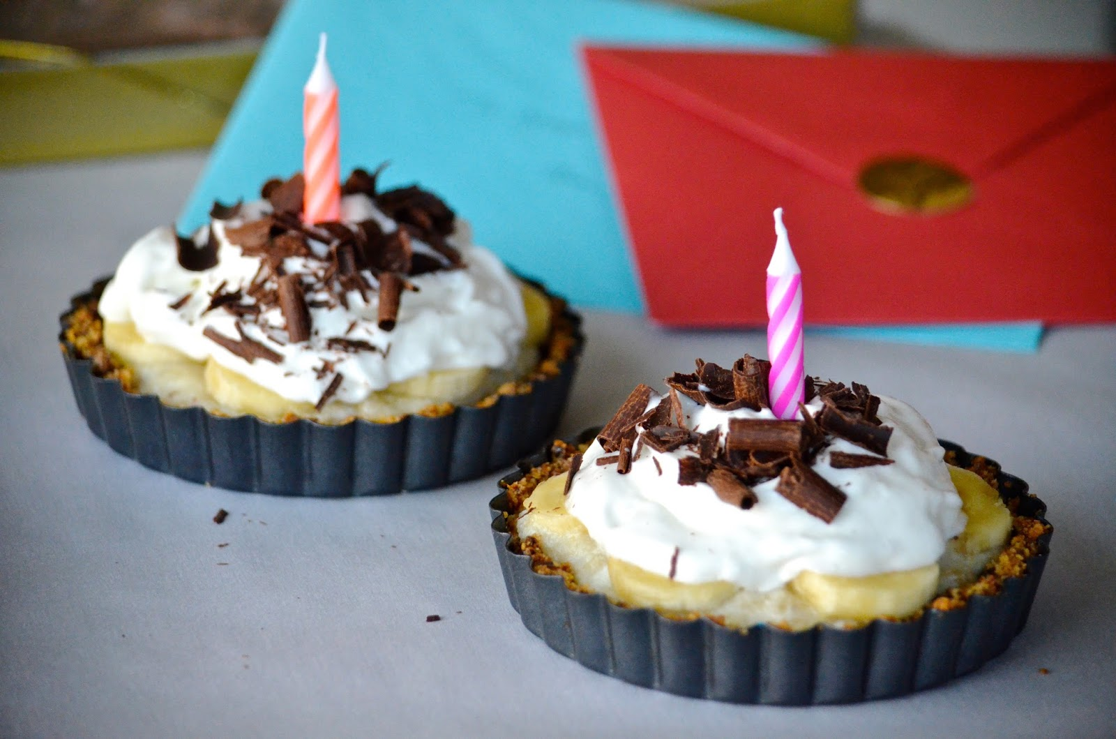 Healthy Coconut Cream Tart Banana Cream Tart