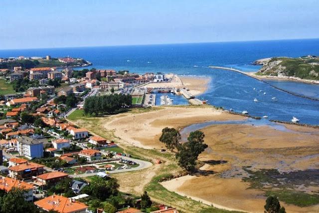 Panorámica de Suances, en Cantabria