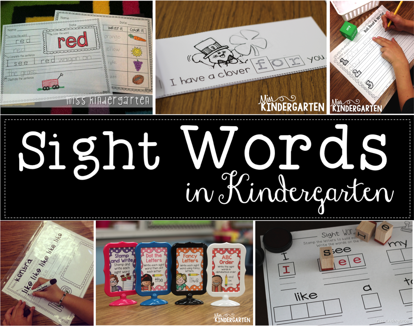 Making sight words fun miss kindergarten a great way to start your kindergarteners off is with some color word practice these are sight words that are seen often and your students will have some sciox Image collections