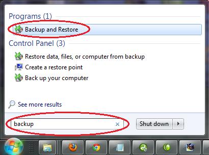 Cara Set up Schedule Waktu Untuk Proses Backup System Image Secara Otomatis