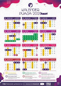 Kalender Puasa Wajib & Sunnah 2020 Untuk Ahli Surga