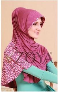 Contoh foto jilbab edisi lebaran 2015