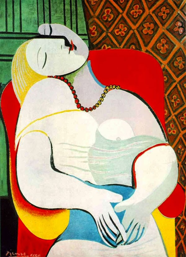 Pablo Picasso The Dream. 1932