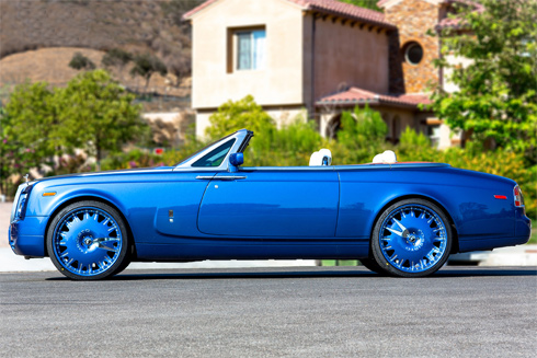 Best Car Modified Rolls Royce Phantom With Blue Color