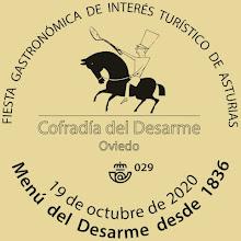 Matasellos del Desarme en Oviedo