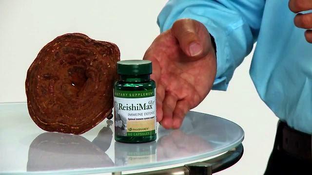 Thực phẩm chức năng ReishiMax GLp Nuskin nấm linh chi