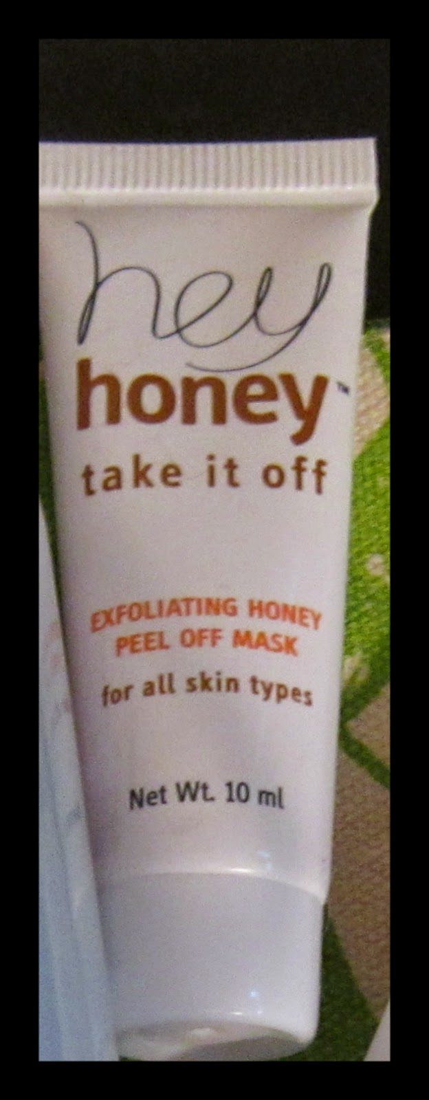 Hey Honey Take It Off! Exfoliating Honey Peel Off Mask