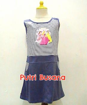 putri busana dress anak princess