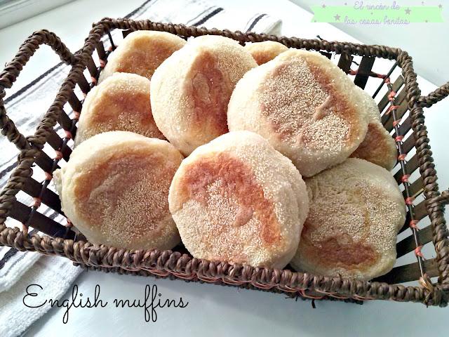 english muffins receta pan casero