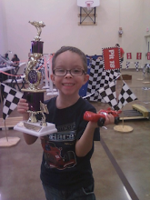 Kenny Michael Pinewood Derby Winner