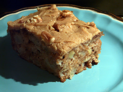 Thibeault's Table: Apple Cake with Caramel Frosting