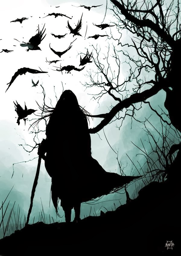 and now with pinterest there is no shortage of inspiration of branches crows and black feather used in halloween decor - Halloween Crows